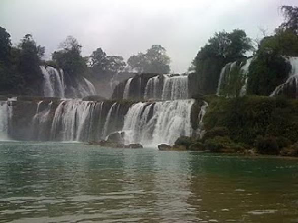Most beauty waterfall of Vietnam