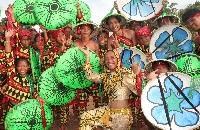 Haladaya Festival (Municipality of Daanbantayan) -  August 30, 2011