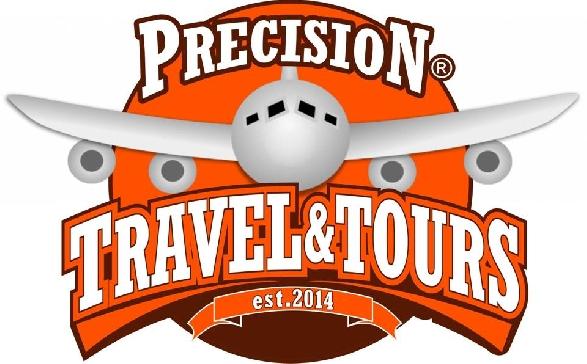 precision travel and tours logo
