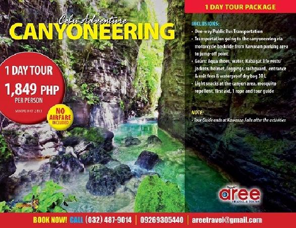 Canyoneering Cebu
