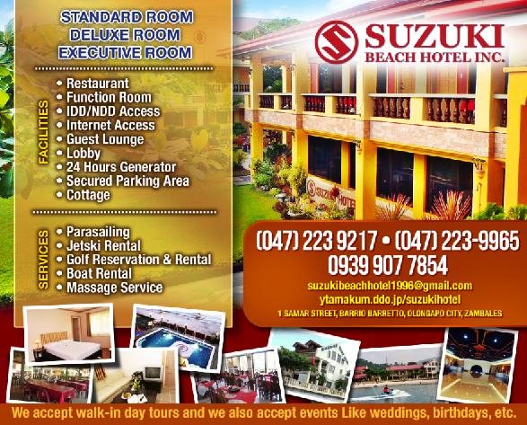 SUZUKI BEACH HOTEL, INC.