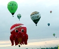 Octopus Balloon Afloat