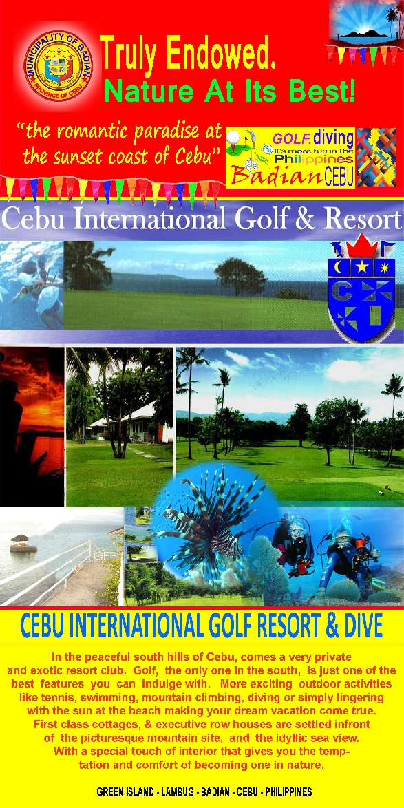 Badian: Cebu International Golf & Resort