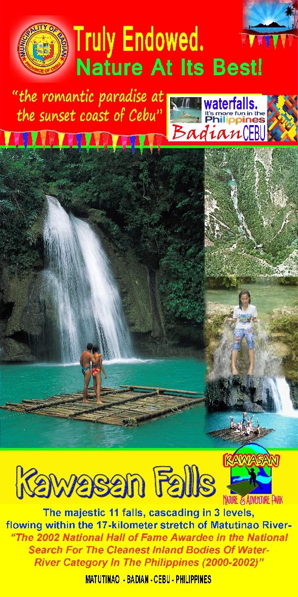 Badian:  Kawasan Falls