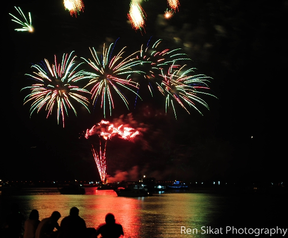 Fireworks @ Mall of Asia