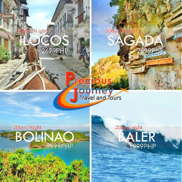 ILOCOS/SAGADA/BOLINAO/BALER