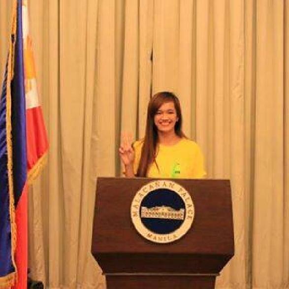 At the Malacanang Palace