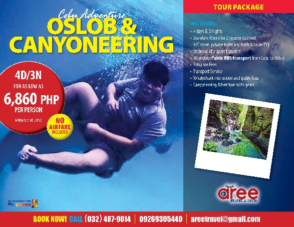 CEBU ADVENTURE:OSLOB WHALE WATCHING&CANYONEERING