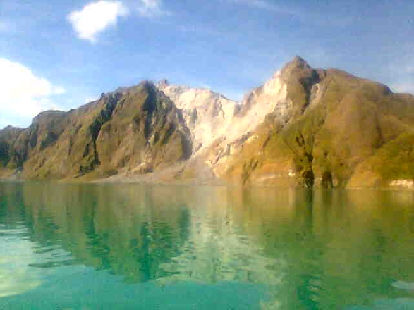 Mt. Pinatubo, THE CRATER