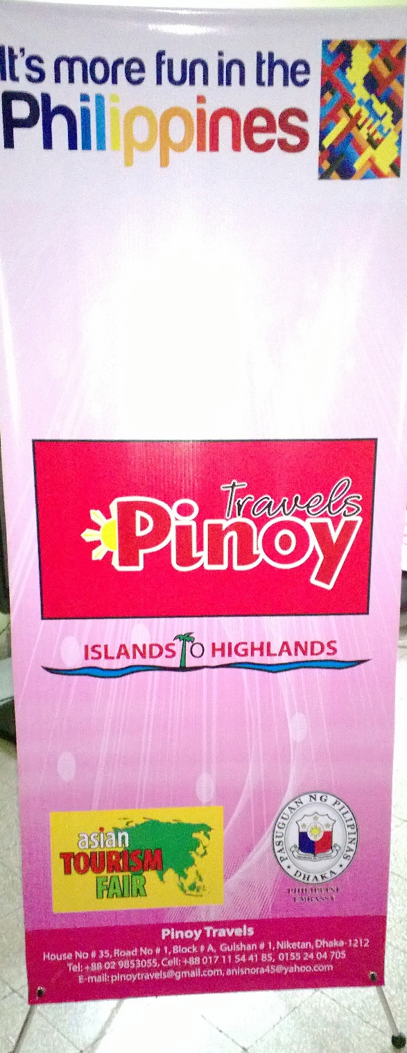 Pinoy Travels at Asian Tourism Fair